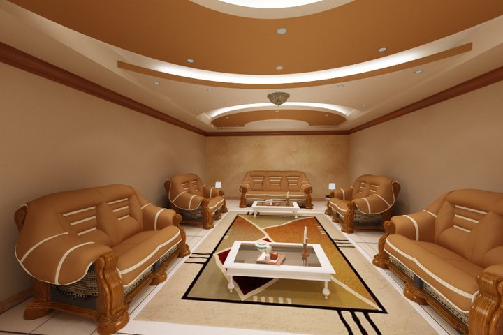 Home interior designs cheap false ceiling designs for for Plaster of paris ceiling designs for living room