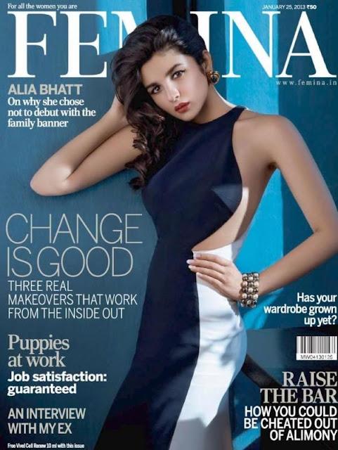 Alia Bhatt - Femina India Magazine