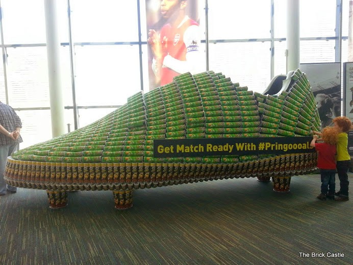 The National Football Museum at Urbis, Manchester Pringles football boot