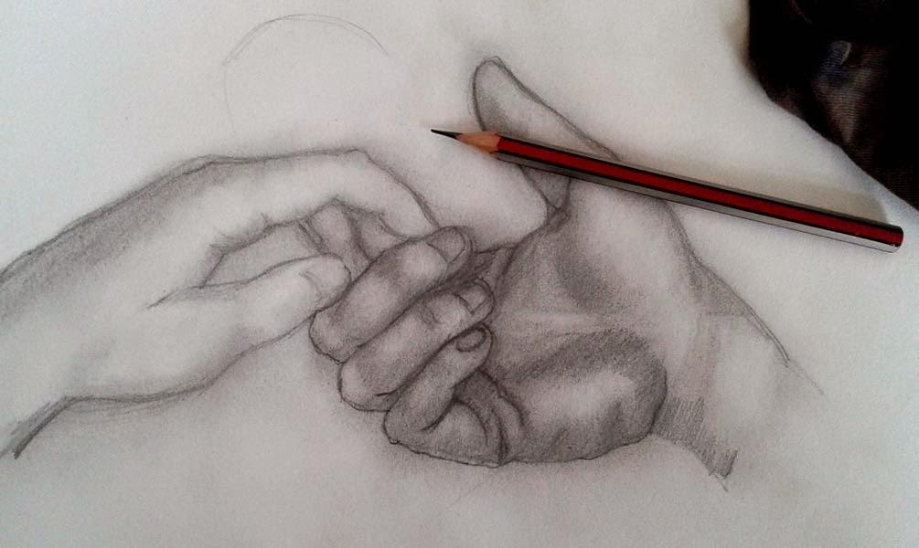 apunte de manos