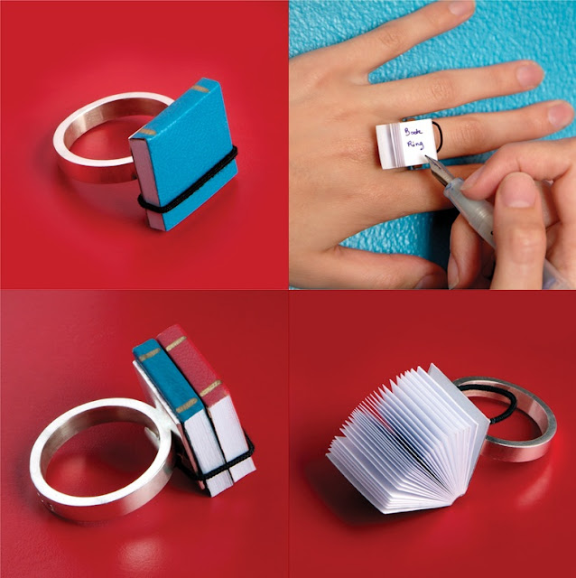 Ana Cardim, book ring