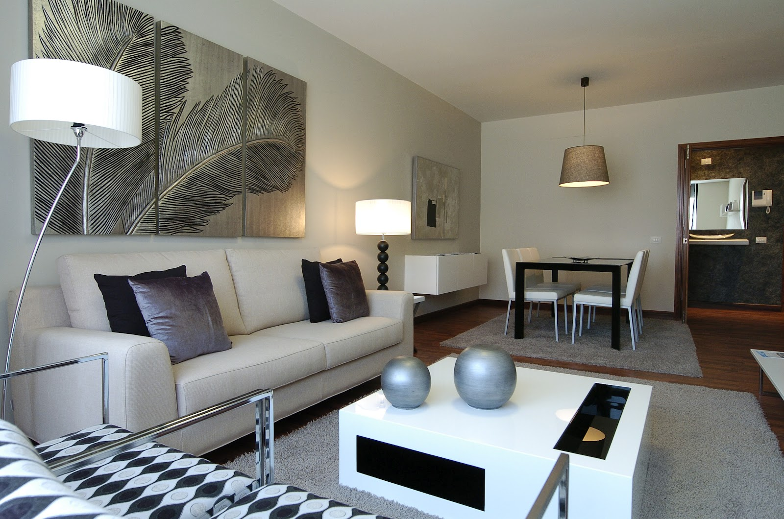 Comedores y salones interley interiores - Decoracion interiores salones modernos ...