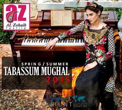 Tabassum Mughal Luxury Lawn 2015
