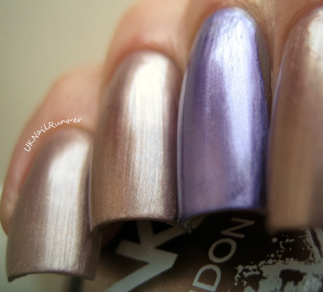 Binky London Grosvenor Gold and Pimlico Purple