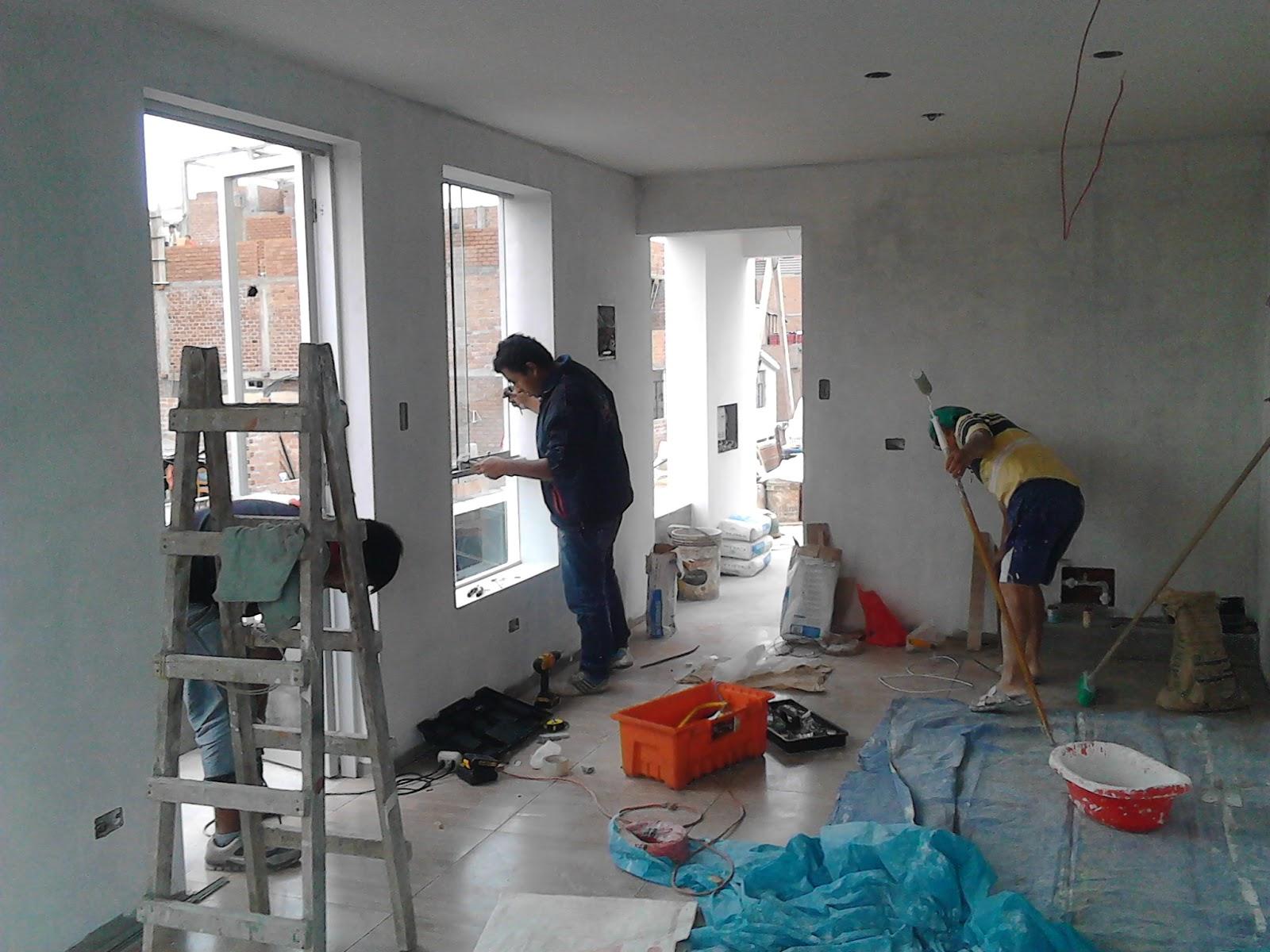 Cristian campos obra en proceso colocaci n de ventanas y for Colocacion de ventanas de aluminio