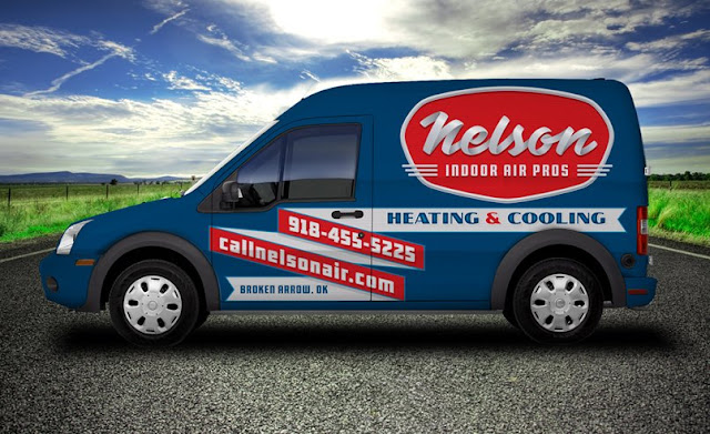HVAC vehicle wrap example