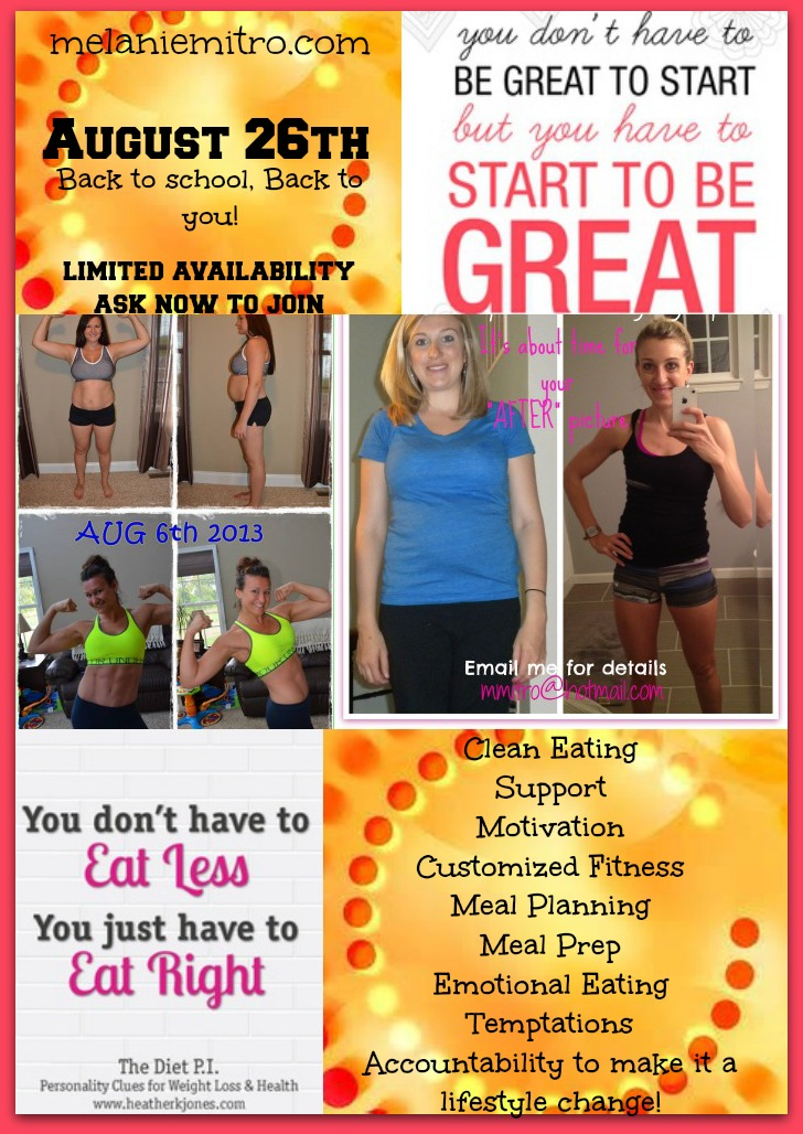 Committed To Get Fit Melanie Mitro S August Challenge