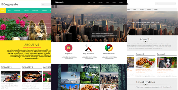 3 column blogger templates premiumbloggertemplates bcorporate is a perfect choice for personal blogs and business blogs it is best suited for corporate and business blogs wajeb