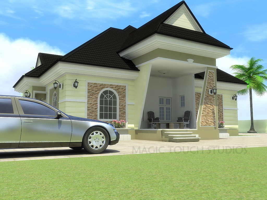 House plans in nigeria bungalow house home