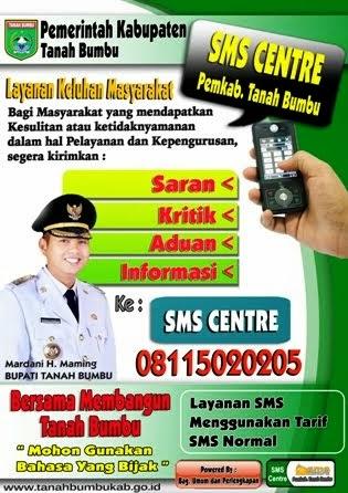 SMS Centre Pemkab Tanbu