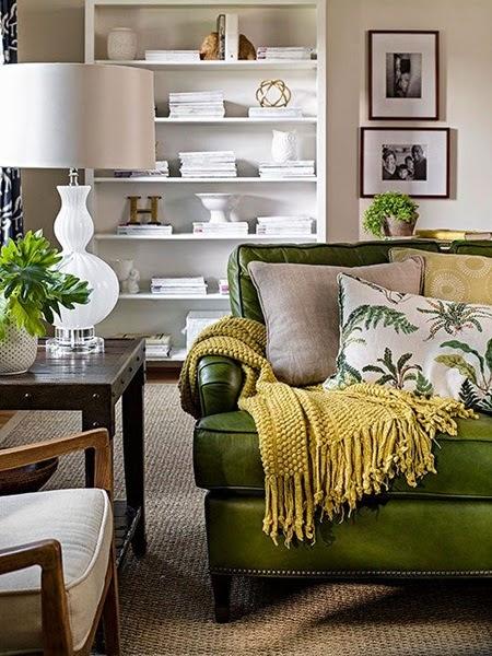Inspiracje W Moim Mieszkaniu Zielona Kanapa Do Salonu Green Sofa For The Living Room