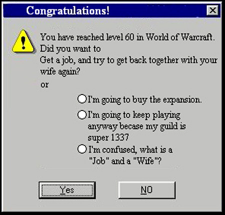 popup image of world of warcraft