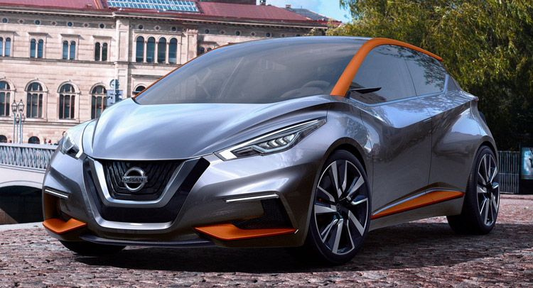nissan sway concept points to an interesting future for micra. Black Bedroom Furniture Sets. Home Design Ideas