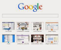 chrome barra e logo Google