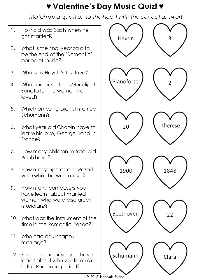 Sew Lah Tea Dough Valentines Day Piano Worksheets – Composer Worksheets