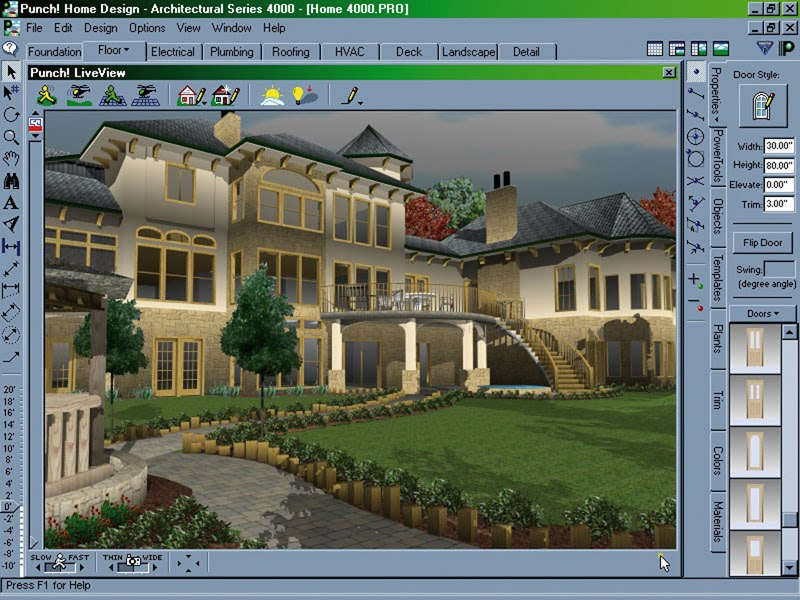 Best home design software architectural home designer for Best architecture design of house