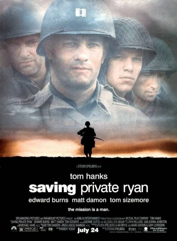 saving private ryan media essay