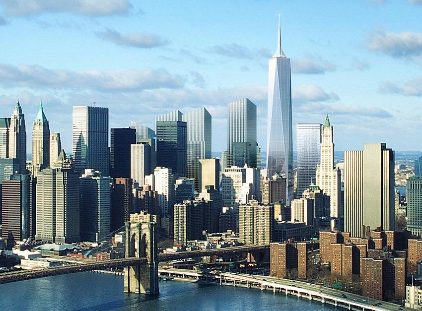 freedom tower or the twin towers