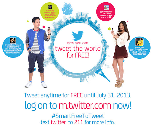 Twitter Zero : Free Twitter Access from Smart Communications