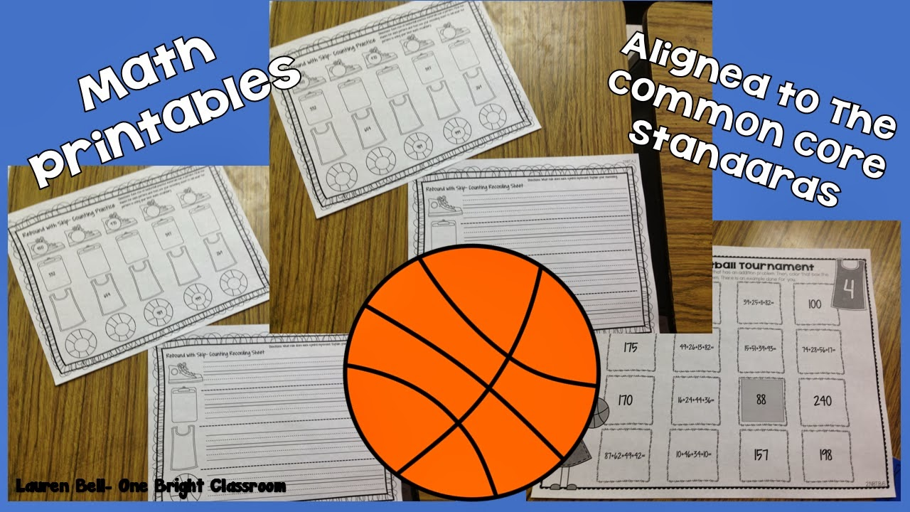 http://www.teacherspayteachers.com/Product/Brackets-of-Basketball-Fun-Themed-Printables-Aligned-to-The-Common-Core-1147113