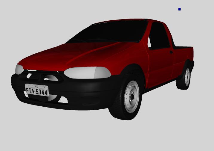 GTA SA - Fiat Strada 2001