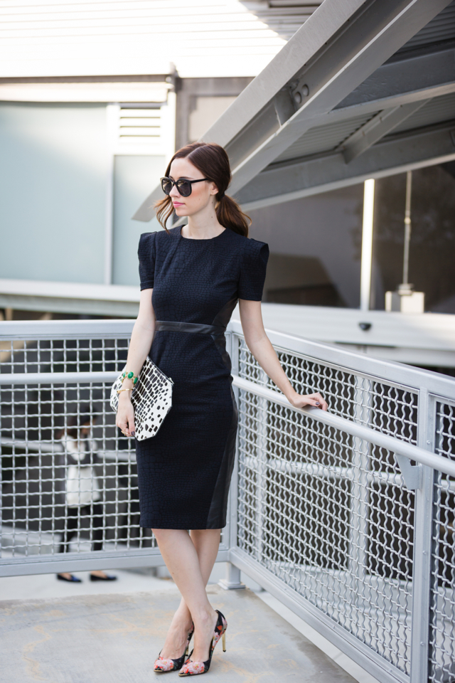 structured dress by lapina by david helwani via M Loves M @marmar