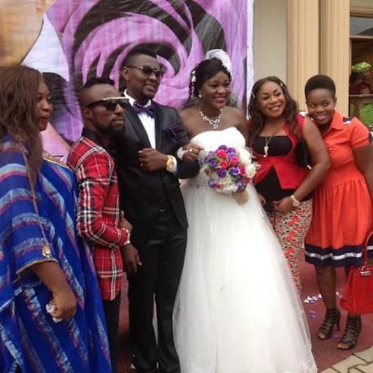 Photos nollywood actress chacha eke weds movie director austin