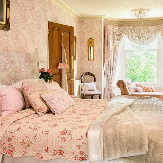 french bedroom pink
