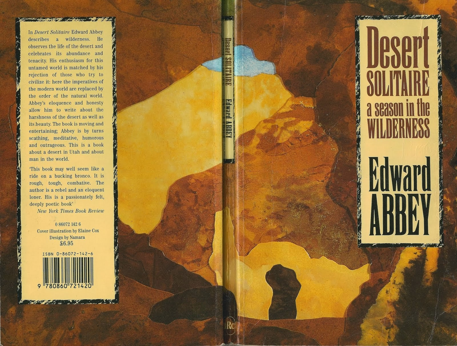 an analysis of edward abbeys desert solitaire An analysis of the preservation of wilderness in polemic: industrial tourism and the national parks by edward abbey  and the national parks, desert solitaire.