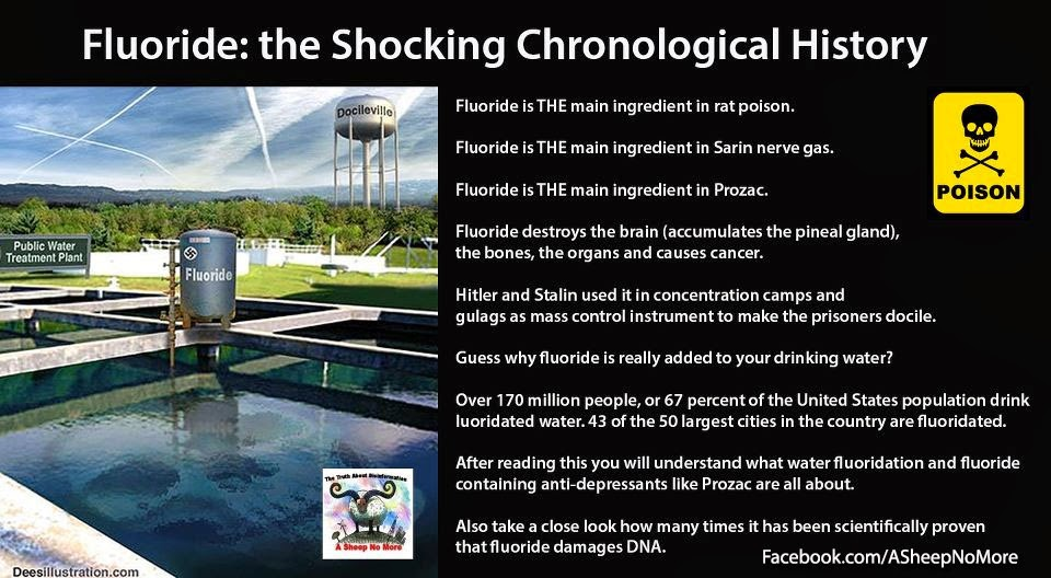 A Sheep No More : Fluoride: the Shocking Chronological History