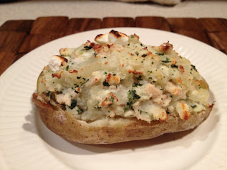 Twice Baked Potato Chicken Spinach Feta Shelf Reliance