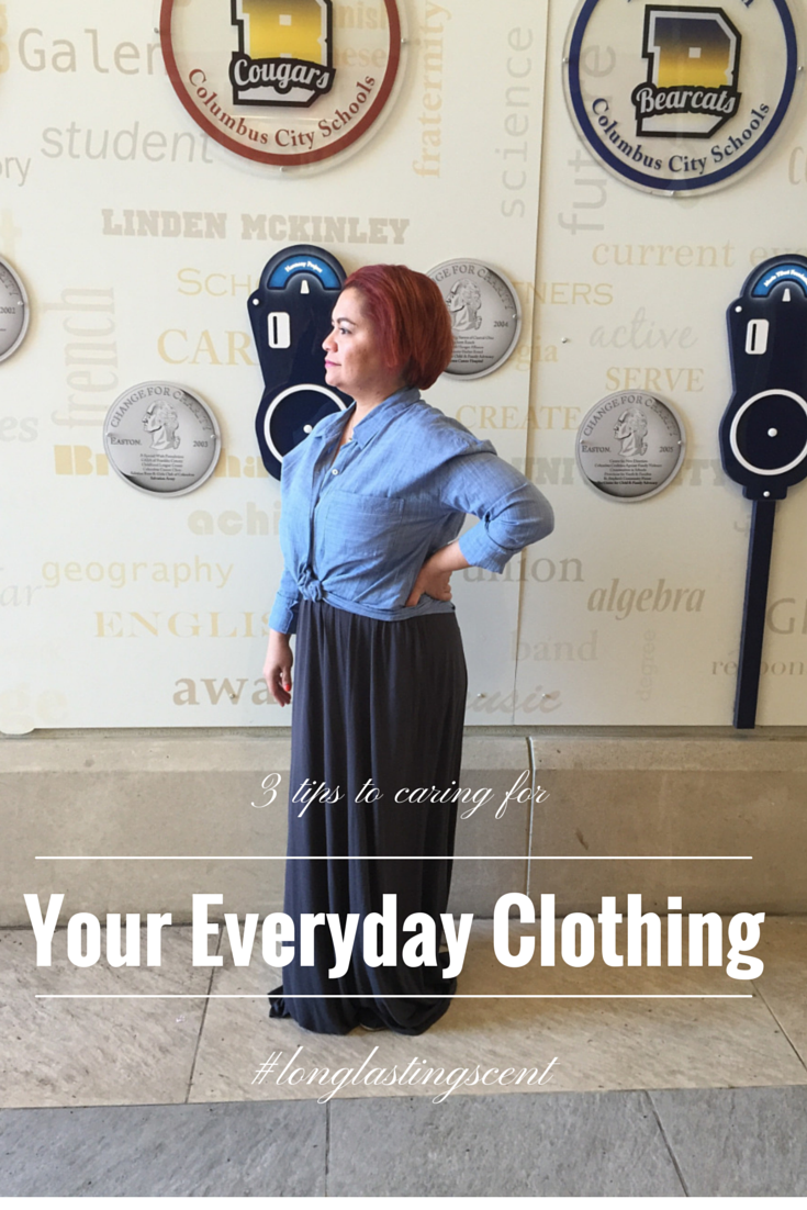 3 Tips on Caring for Your Everyday Clothing - #LongLastingScent