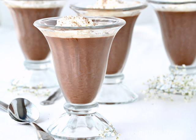 Light Chocolate Panna Cotta from Mother Thyme