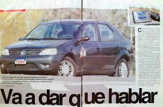 prueba test Renault Logan Luxe 1.6