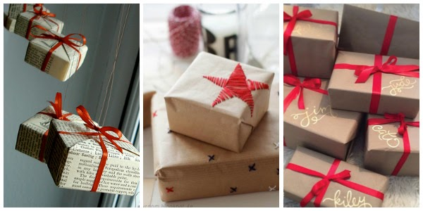 Last minute gift inspiration without a trip to the store for more wrapping supplies.