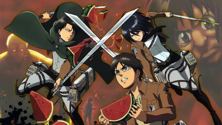 Levi / Rivaille, Mikasa Ackerman, Eren Jaeger