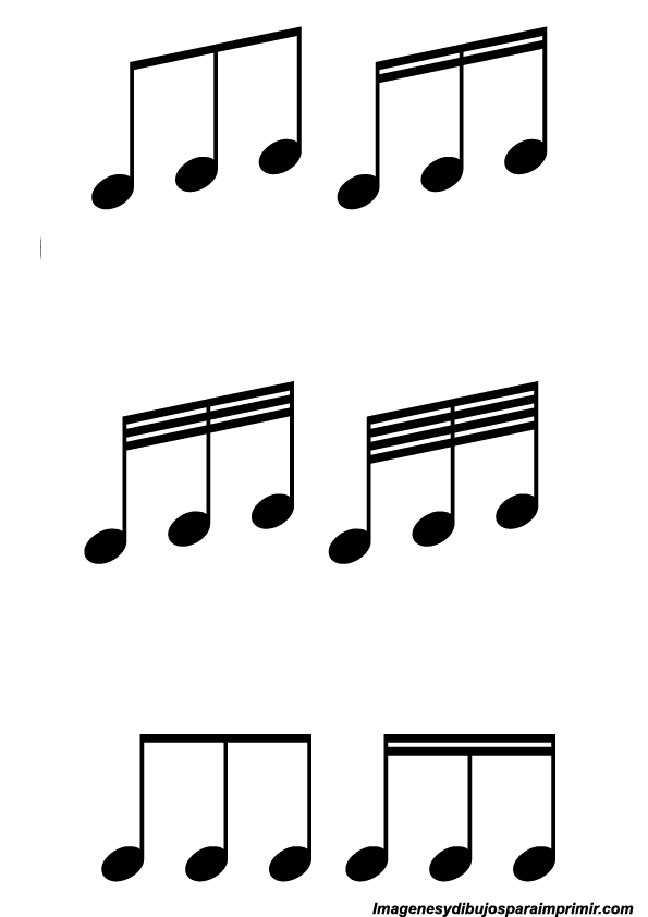 Notas musicales simbolos