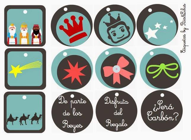Etiquetas imprimibles reyes magos three kings printable - Ideas de regalos para reyes ...