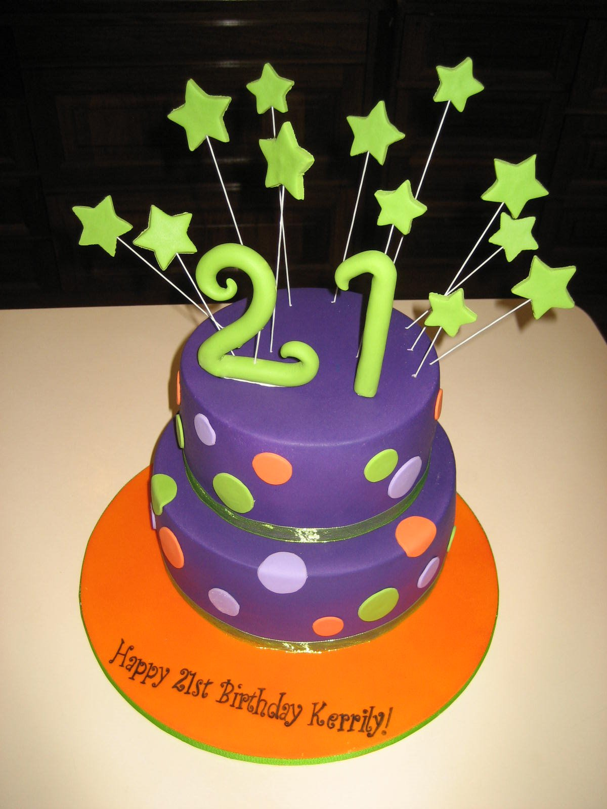Happy 21St Birthday Cakes http://sweetcakecouture.blogspot.com/2012_03_01_archive.html