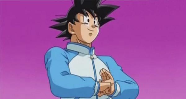 Goku en Dragon Ball Super