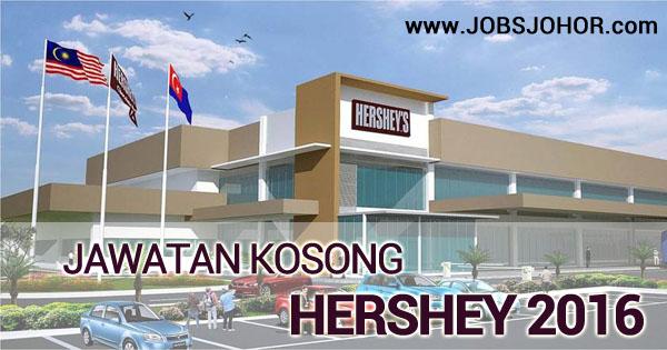 Jawatan Kosong HERSHEY 2016 di Senai Johor Terkini
