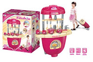 Kitchen Trolley Playset