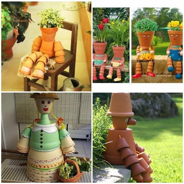 decoracao de jardim bonecos de lata:terça-feira, 4 de fevereiro de 2014