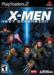 X Men: Next Dimension   PS2