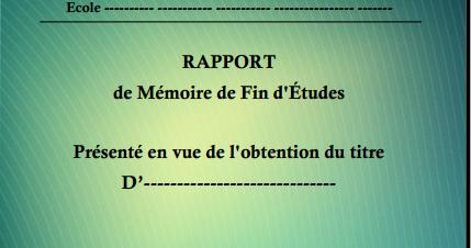 Stagepfe docx page de garde word professionnelle pour - Page de garde rapport de stage open office ...