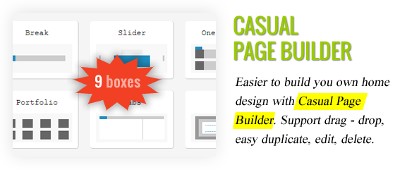 Casual Page Builder - Lead Press – Flexible Magazine WordPress Theme