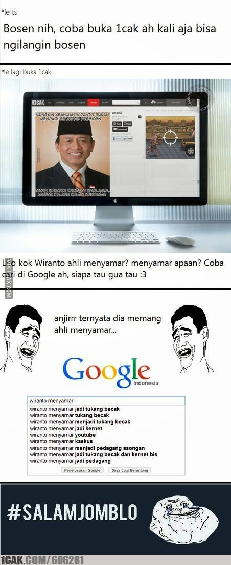 Meme Lucu Wiranto Menyamar 12