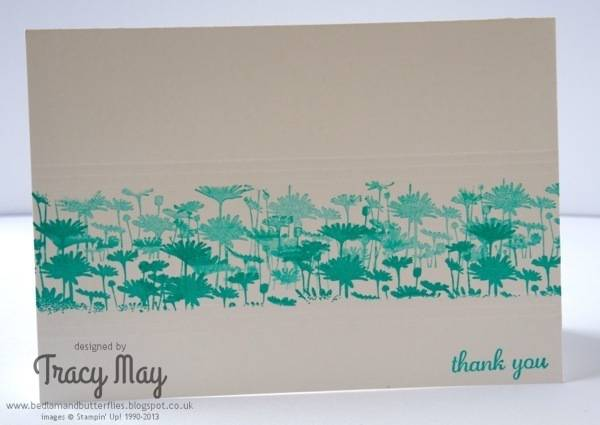 Stampin Up best of flowers gift ideas card making Tracy May