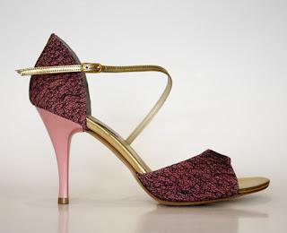 pantofi tango turquoise