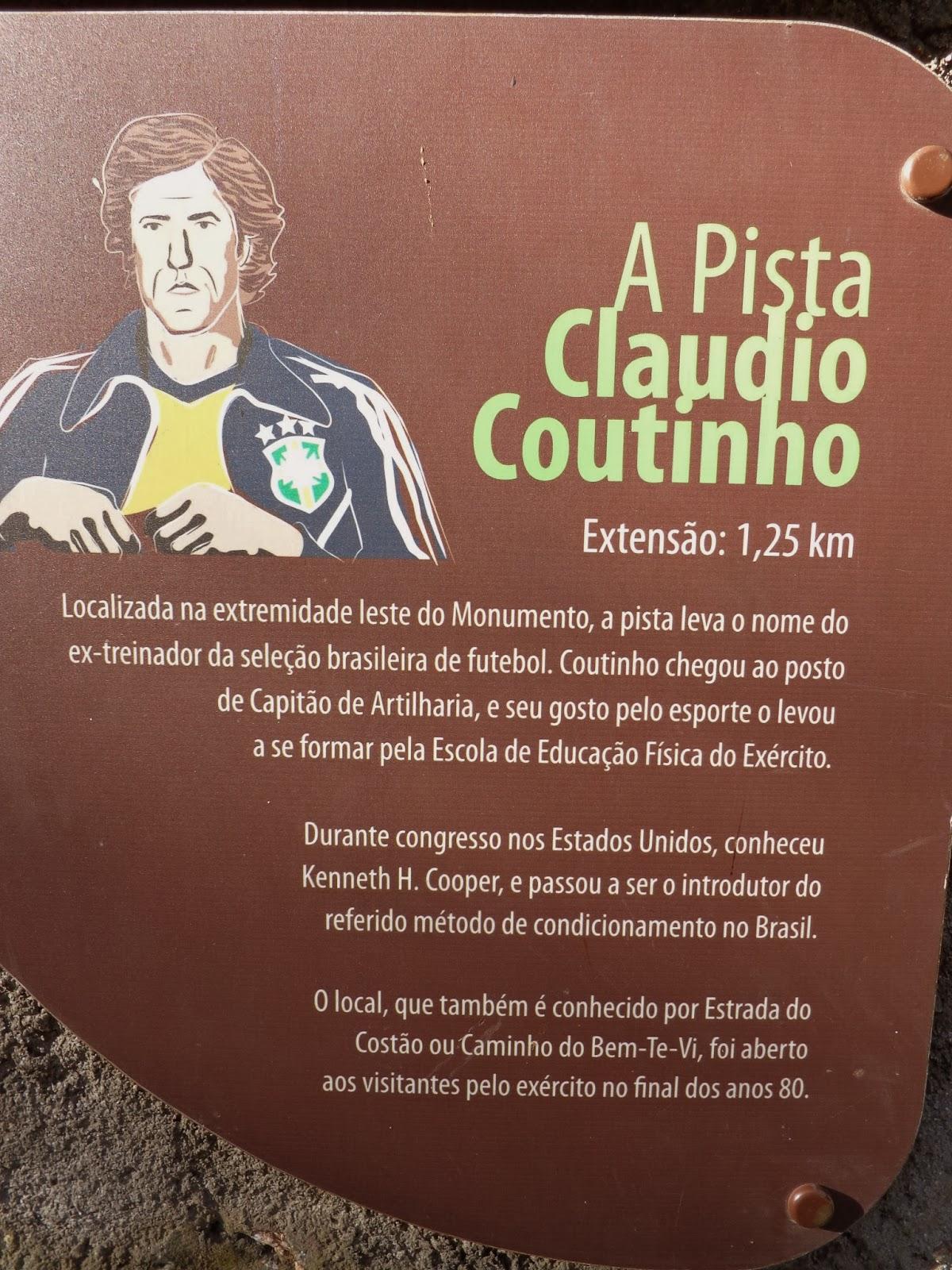 Pista Cláudio Coutinho, Praia vermelha, Rio de Janeiro